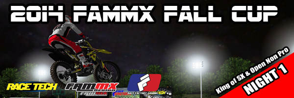 2014 FAMmx Fall Cup Open Night