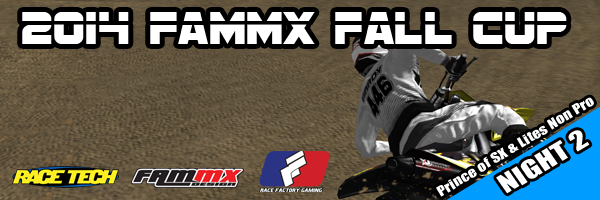 2014 FAMmx Fall Cup Lites Night
